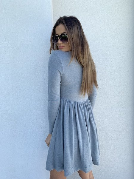 LILOU DRESS GRAY