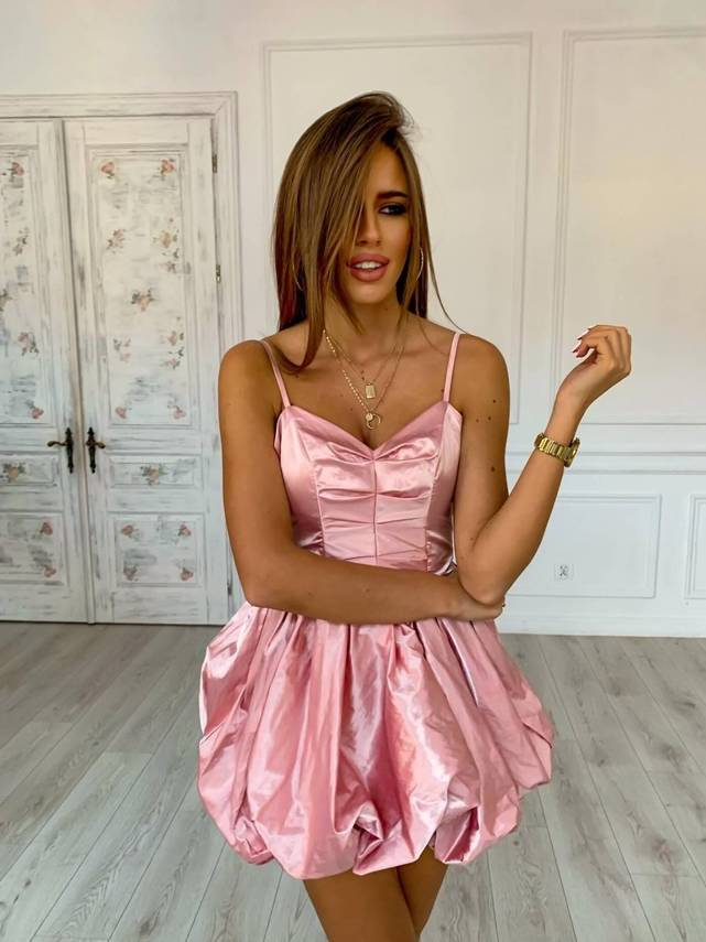 NEW YEAR'S EVE PINK DRESS | SHEILA AW20