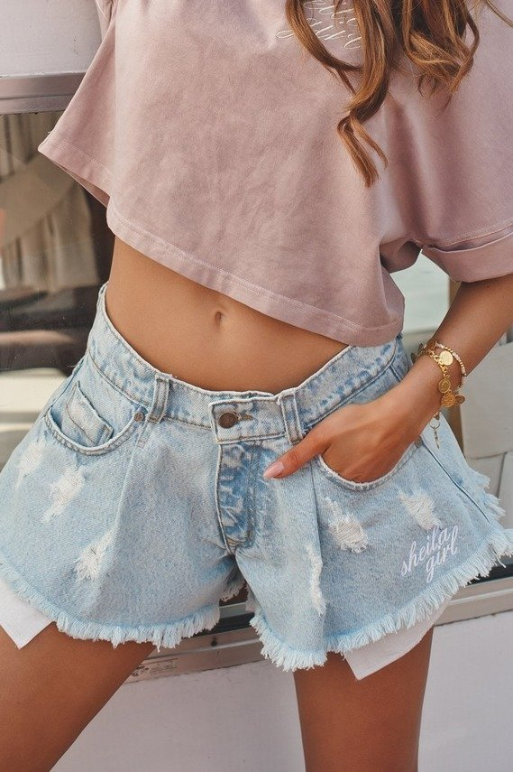 SHEILA GIRL SHORTS WITH BOOKMARKS | SHEILA SS20